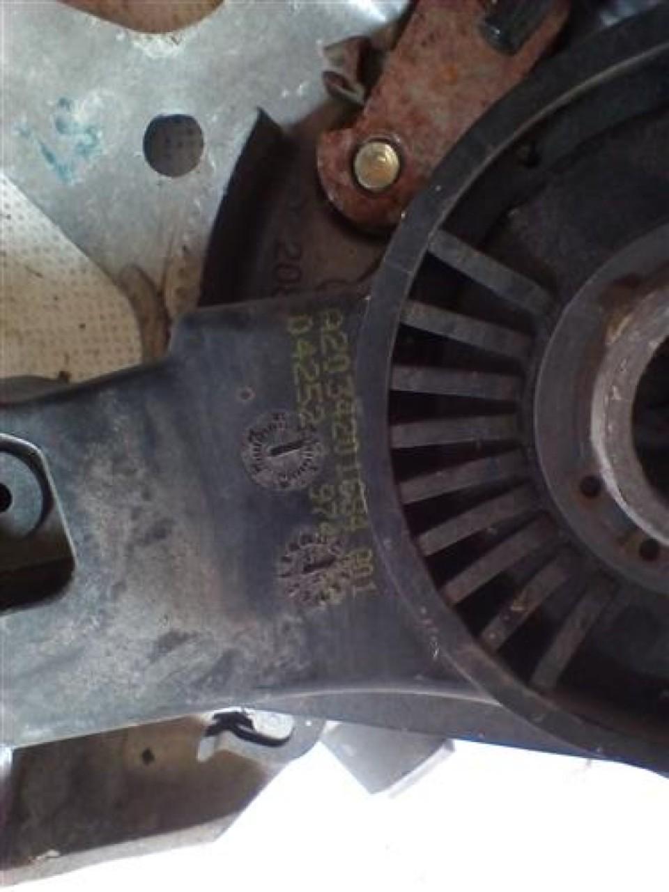 Pedala frana de mana Mercedes CLS An 2002-2007 cod A2084270036