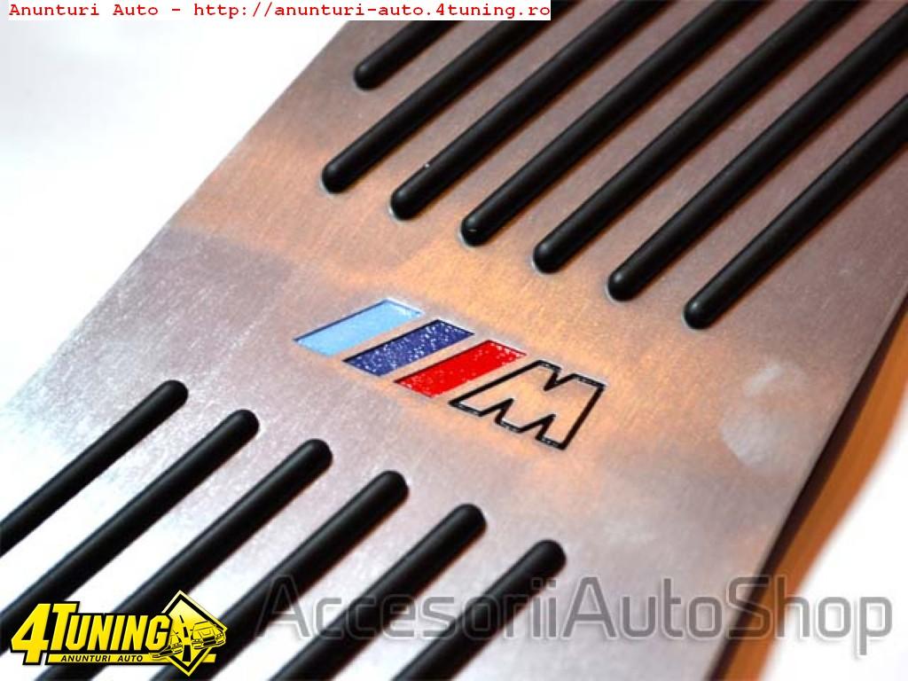 Pedale BMW X5 E70 Logo M Aluminiu