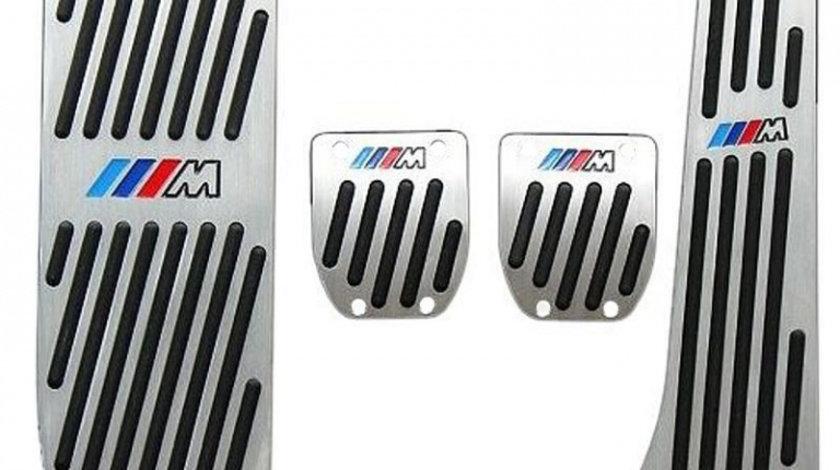 Pedale Sport Aluminiu + Pedala Repaus BMW Seria 6 E63, Transmisie Manuala