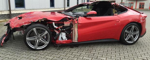 Pentru 77.000 de euro poti avea un BMW M4 sau... jumatate de Ferrari F12