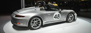 Pentru melancolici. Porsche lanseaza la New York noul 911 SPEEDSTER cu pachet Heritage Design