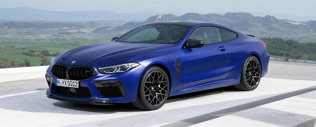 Pentru prima data in istoria lor. Bavarezii de la BMW lanseaza un M8 de serie, cu 600 CP si tractiune integrala