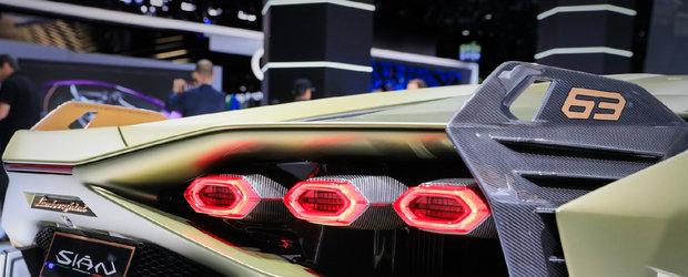 Pentru prima data in lumina reflectoarelor. Cum arata in realitate noul Lamborghini de 3.6 milioane de dolari