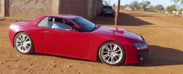 Pentru unii kitsch, pentru el... vis. Povestea masinii construite de la zero intr-un garaj din Africa de Sud