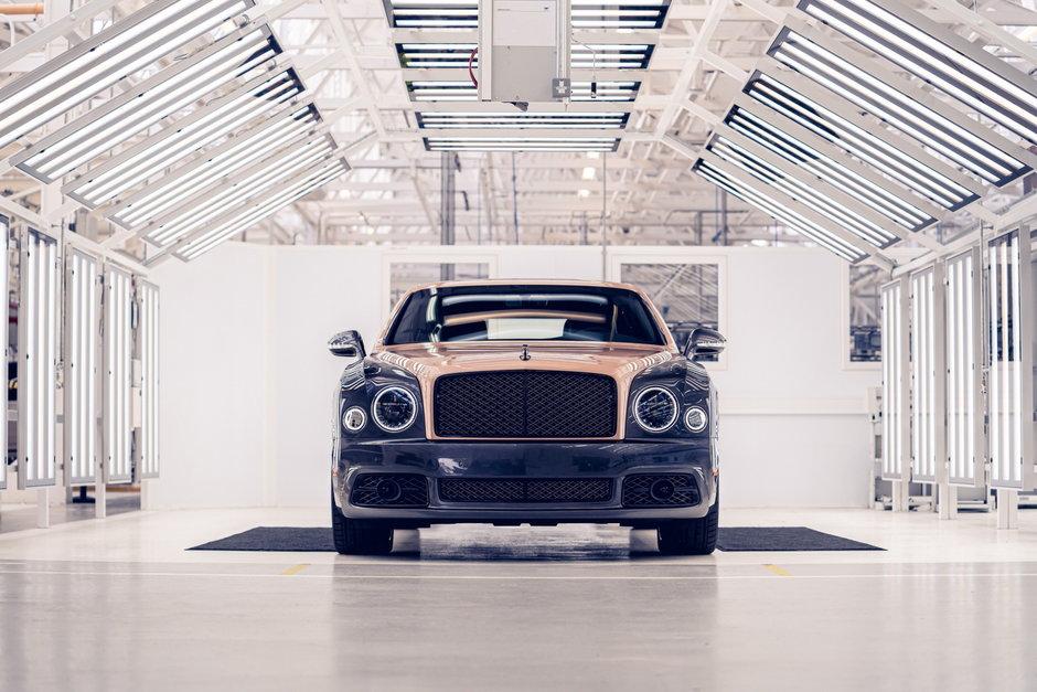 Pentultimul Bentley Mulsanne