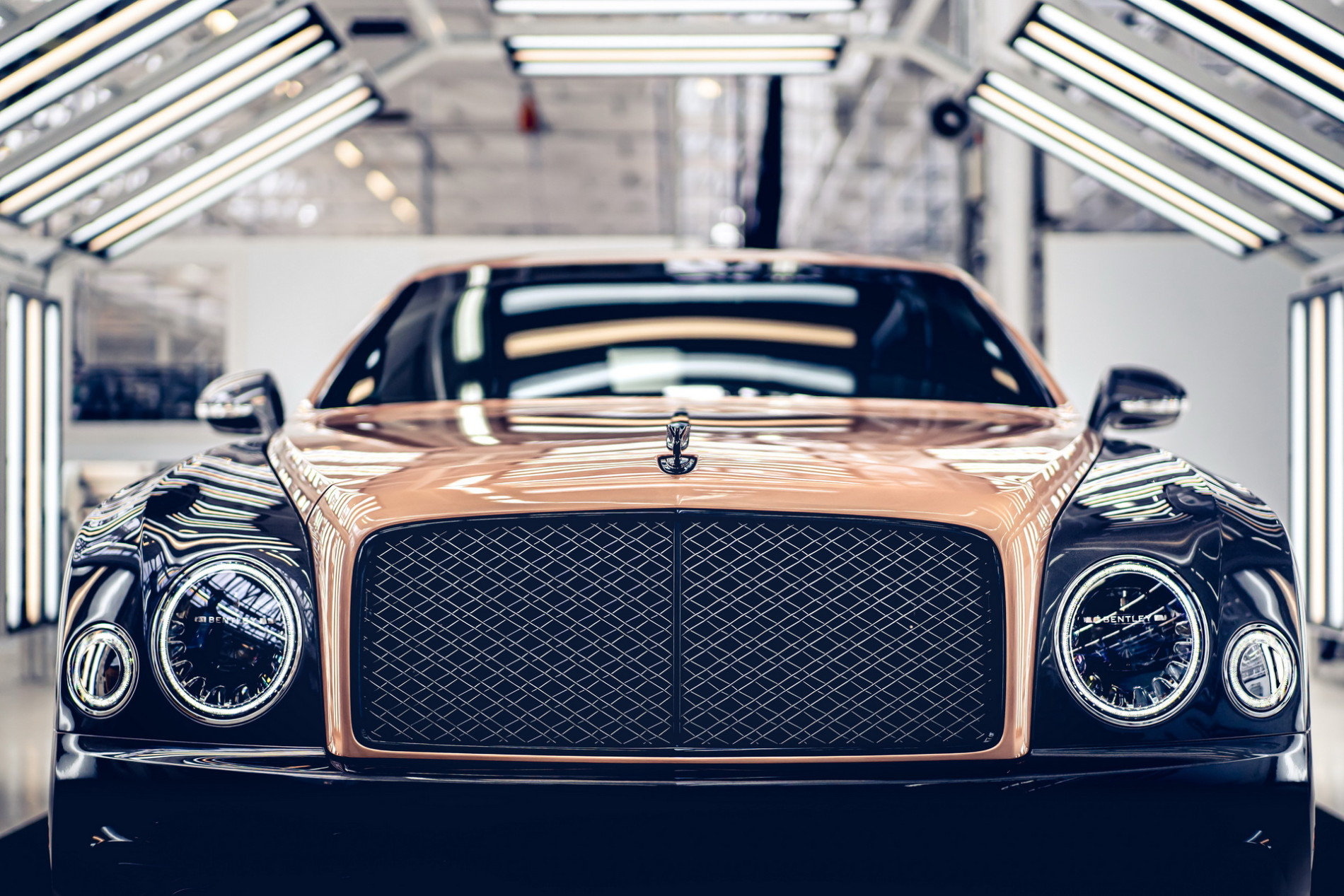 Pentultimul Bentley Mulsanne - Pentultimul Bentley Mulsanne