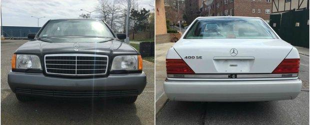 Perechea perfecta: Doua Mercedes-uri W140 se vand la pachet peste Ocean. Masinile sunt noi-noute.