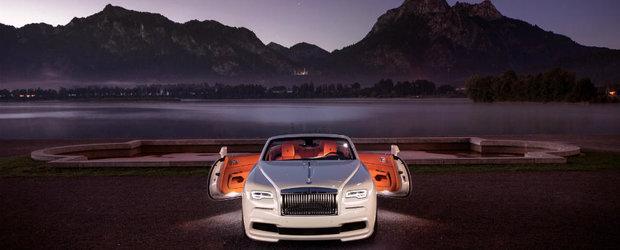 Performanta intalneste eleganta. Cu alte cuvinte, asa arata Rolls-Royce-ul Dawn in viziunea celor de la Spofec