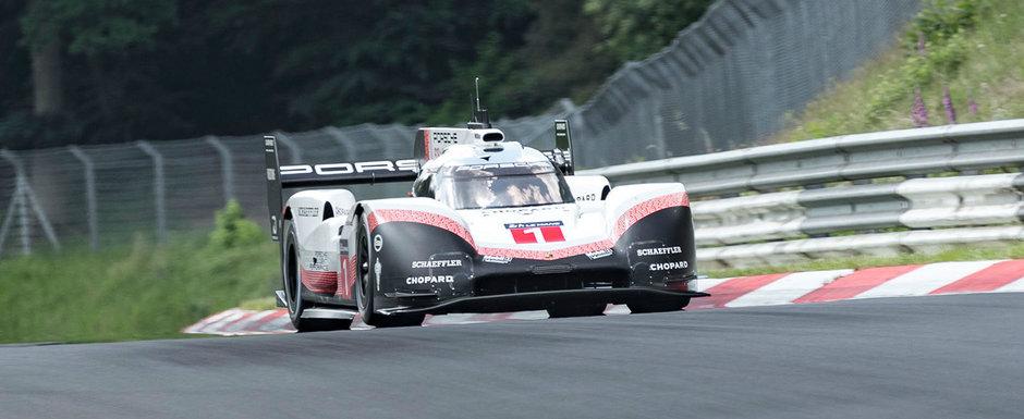 Performanta istorica pentru Porsche la Nurburgring. Recordul absolut de circuit a cazut dupa 35 de ani