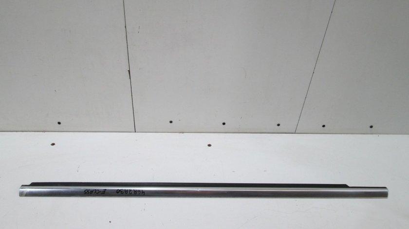 Perie geam / Ornament crom exterior usa stanga fata Mercedes E-Class W212 an 2009-2012