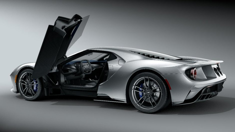 Personalizarile noului Ford GT