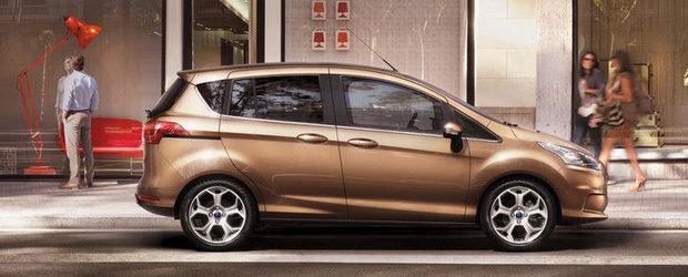 Peste 100 de comenzi Ford B-Max in Romania