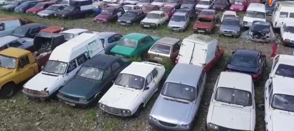 Peste 1000 de masini au ajuns la Rabla fara voia lor: curatenia din Sectorul 4 a strans toate epavele