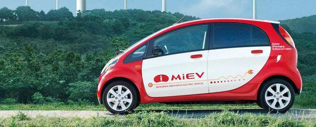 Peste 14.000 de masini Mitsubishi I-MiEV sunt rechemate in service