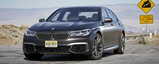 Peste 200 de imagini cu noul M760Li xDrive, BMW-ul cu inima de Rolls-Royce