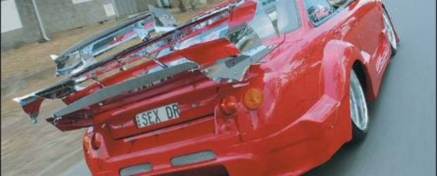 """Petarda"" de vineri: Nissan 200 SX tuning"