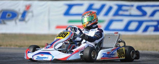 Petrut Florescu, la trofeul Ayrton Senna