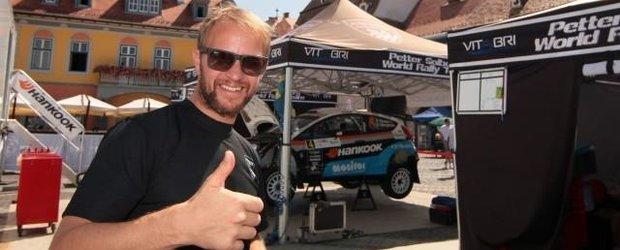Petter Solberg a fost la Raliul Sibiului Romania