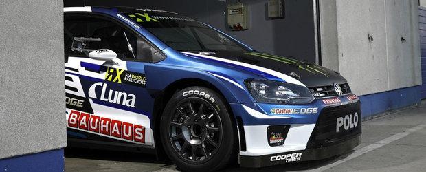 Petter Solberg participa cu o noua masina in Rallycross: Volkswagen Polo GTI Supercar