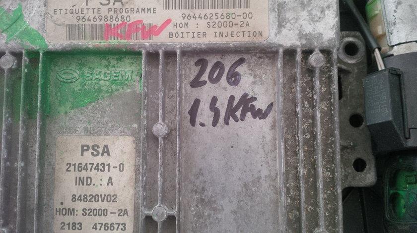 peugeot 206 1.4 kfw 9646988680 SAGEM 9644625680-00