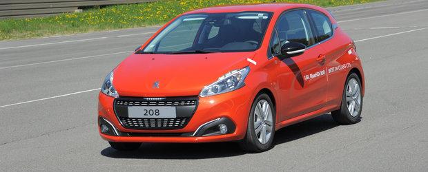 Peugeot 208 BlueHDi reuseste un consum demn de record: 2.0l/100 km