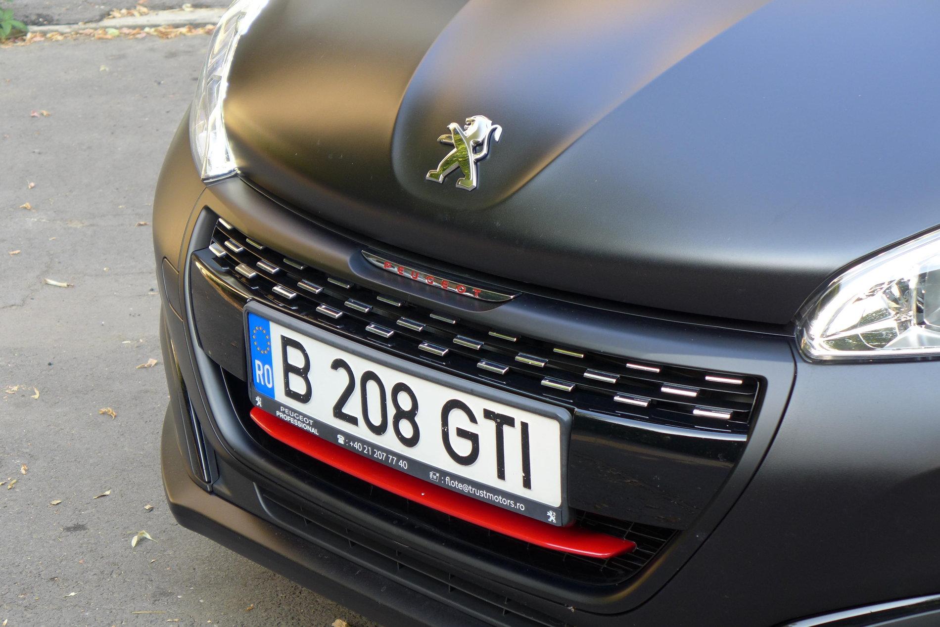 Peugeot 208 GTI - Peugeot 208 GTI