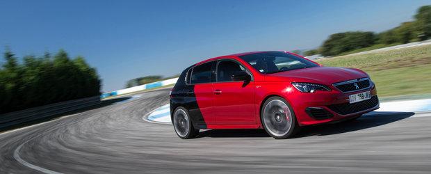 Peugeot 308 GTI facelift ameninta cu 290 de cai putere pozitia rivalilor din segment