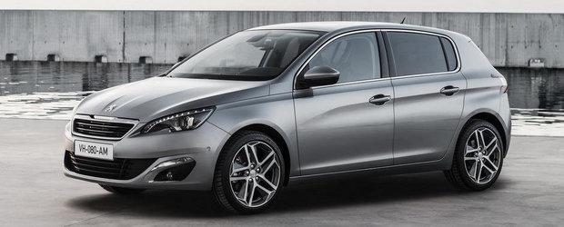 Peugeot 308 isi face aparitia in noi fotografii oficiale