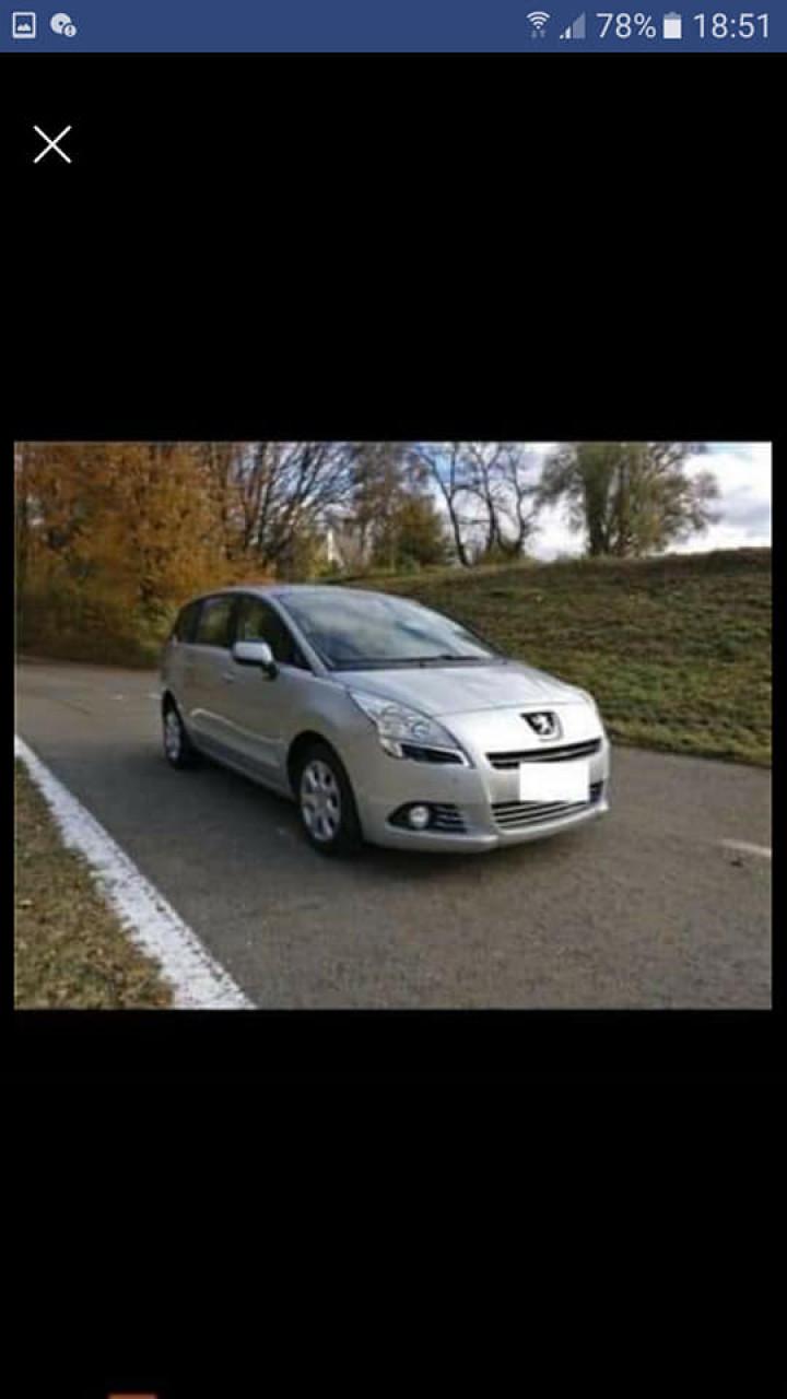 Peugeot 5008 1.6HDI 2011