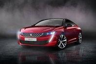 Peugeot 508 Coupe - Ipoteza de design