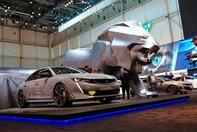 Peugeot 508 Sport Engineered Concept la Geneva