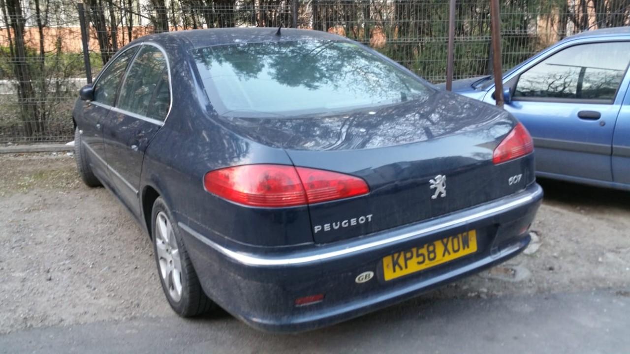 Peugeot 607 22 2008