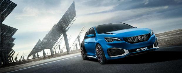 Peugeot a confirmat intrarea in productie a conceptului 308 R Hybrid