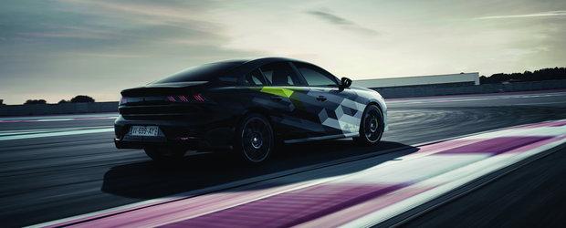 Peugeot a publicat noi poze cu masina asteptata de toata lumea. Cum arata 508 Sport Engineered, super-berlina cu 400 CP sub capota