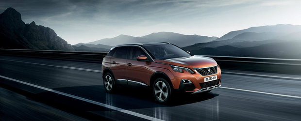 Peugeot ataca piata SUV-urilor cu a doua generatie a modelului 3008