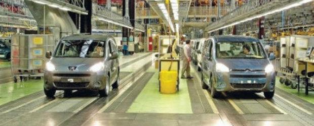 Peugeot-Citroen desfiinteaza 6.000 de locuri de munca