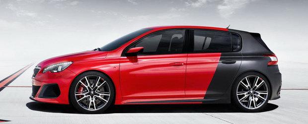 Peugeot cocheteaza cu ideea unui 308 R de 270 cai putere