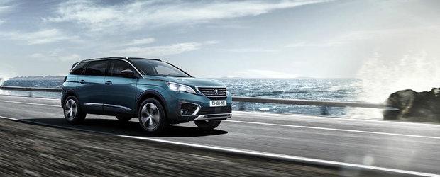 Peugeot continua ofensiva in segmentul SUV-urilor. Francezii aduc la Paris 3 premiere mondiale