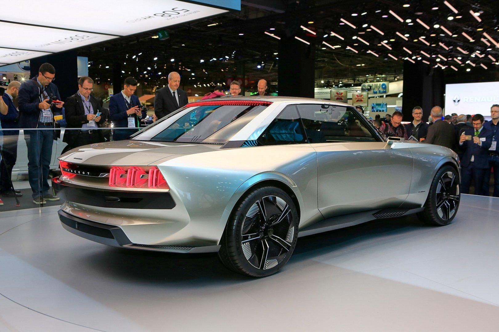 Peugeot e-Legend Concept - Poze reale - Peugeot e-Legend Concept - Poze reale