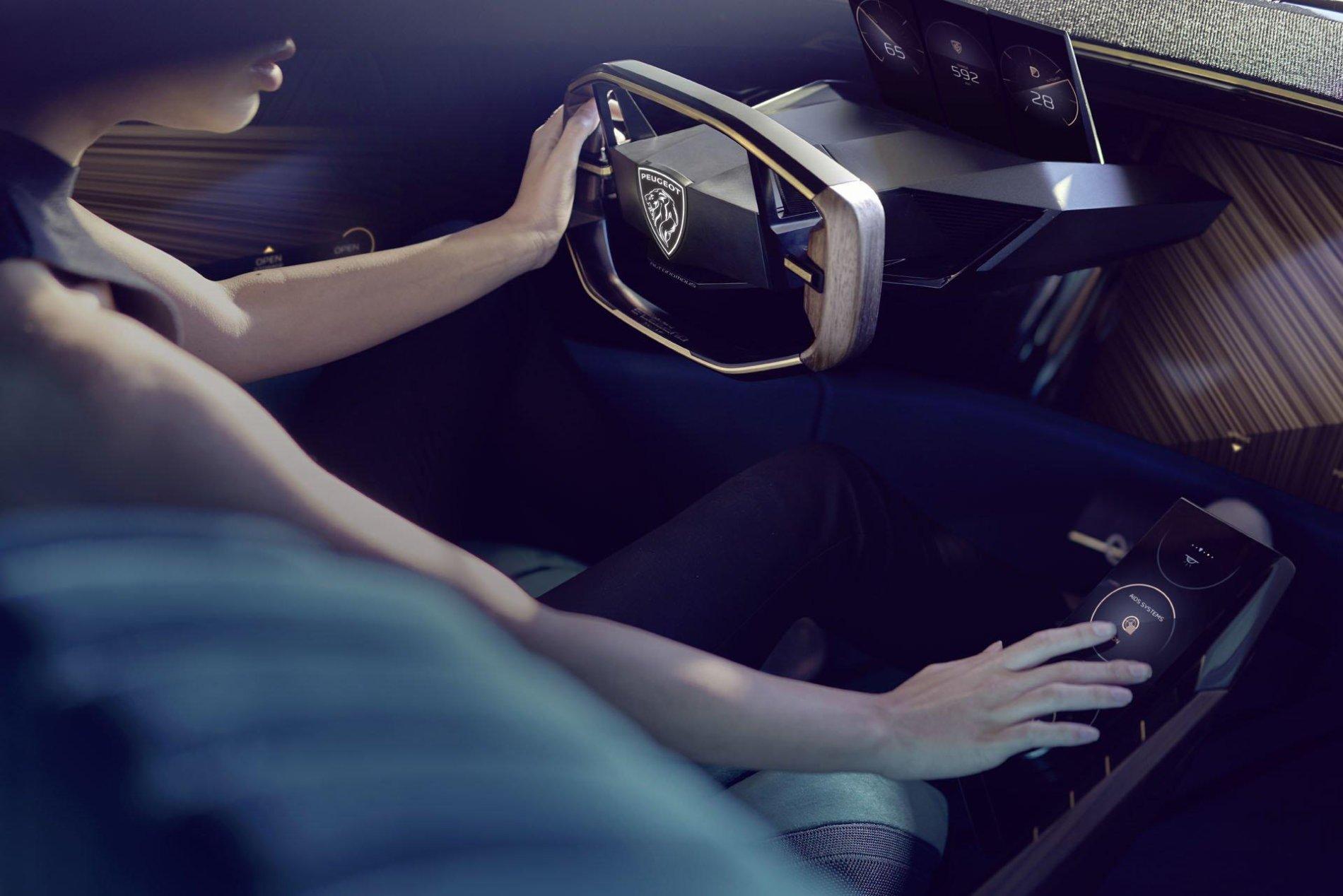 Peugeot e-Legend Concept - Peugeot e-Legend Concept