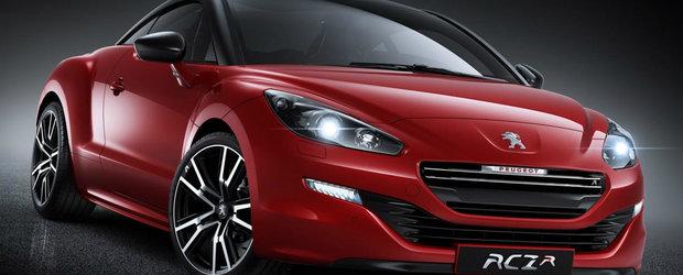 Peugeot ne arata primele poze cu modeul RCZ R de 260cp
