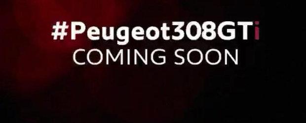 Peugeot ne pregateste pentru debutul noului 308 GTI