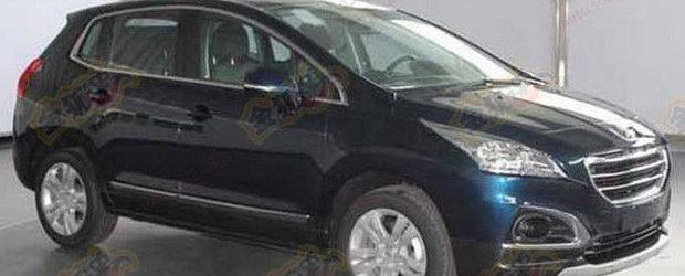 Peugeot pregateste un facelift pentru modelul 3008 vandut in China
