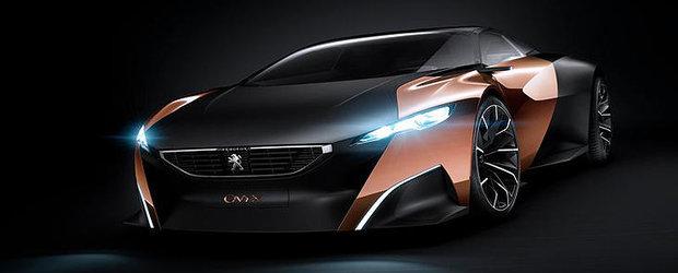 Peugeot prezinta la Paris un concept construit din pasla, cupru si ziare reciclate