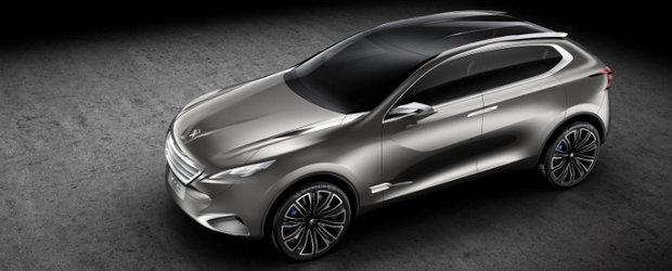 Peugeot prezinta noul SXC Concept, un crossover al viitorului