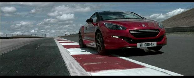 Peugeot RCZ R se promoveaza pe circuit