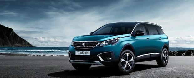 Peugeot tocmai a publicat pozele oficiale ale noului 5008. Uite cum arata si ce aduce nou crossover-ul francez