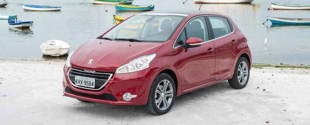 Peugeot-ul 208 intampina unele dificultati la testele Latin NCAP