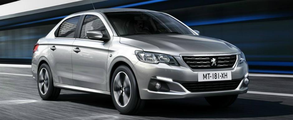 Peugeot-ul 301 a primit un binemeritat facelift