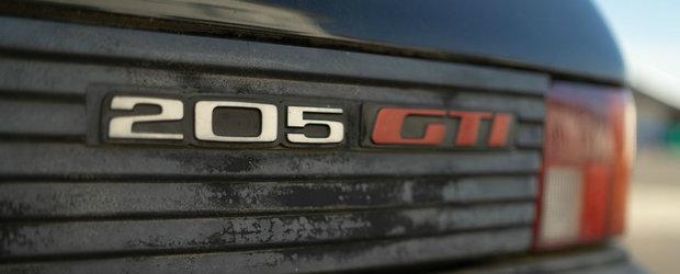 Peugeot vrea sa-i redea stralucirea acestui 205 GTi. Masina va fi apoi vanduta